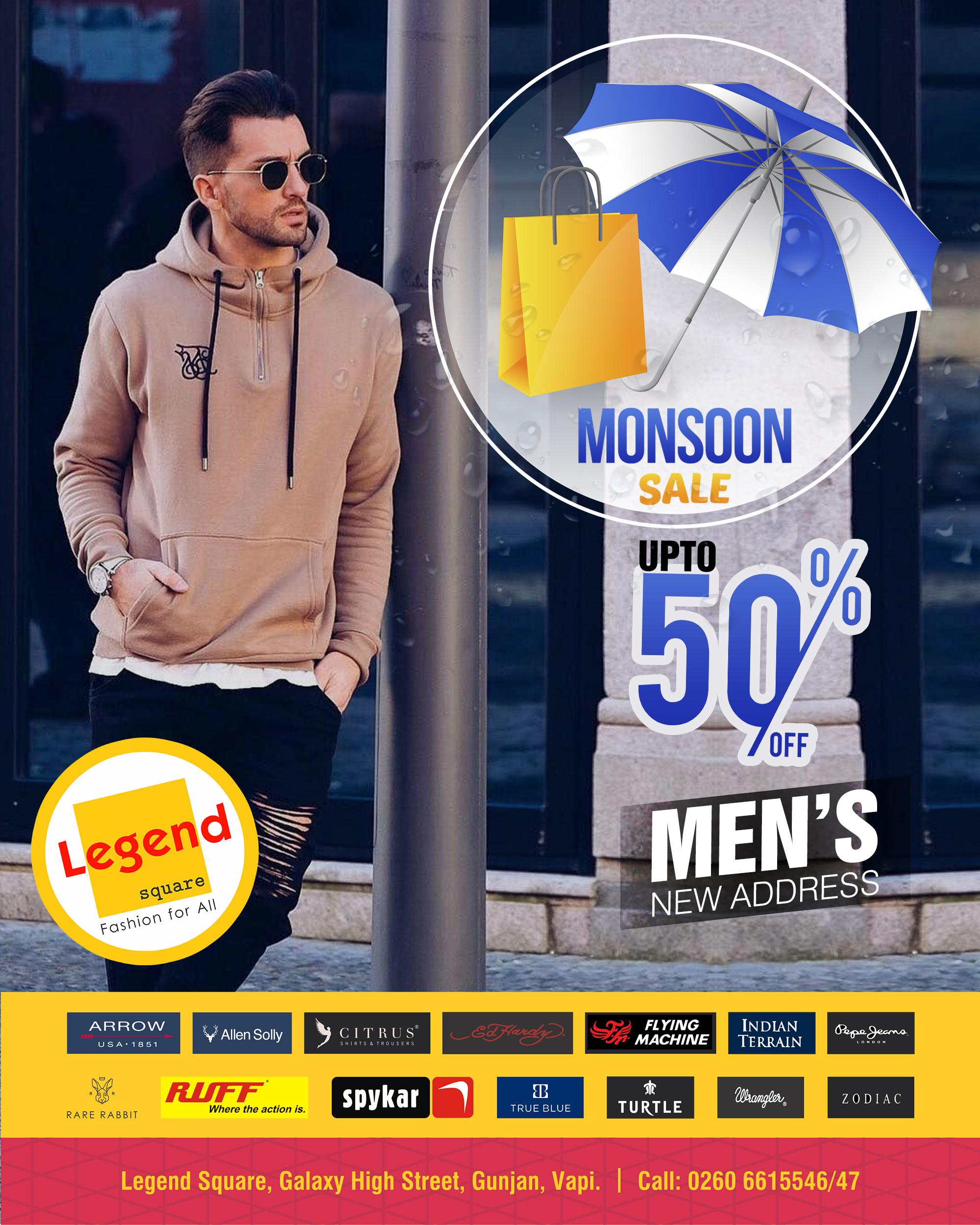 Monsoon sale Banner
