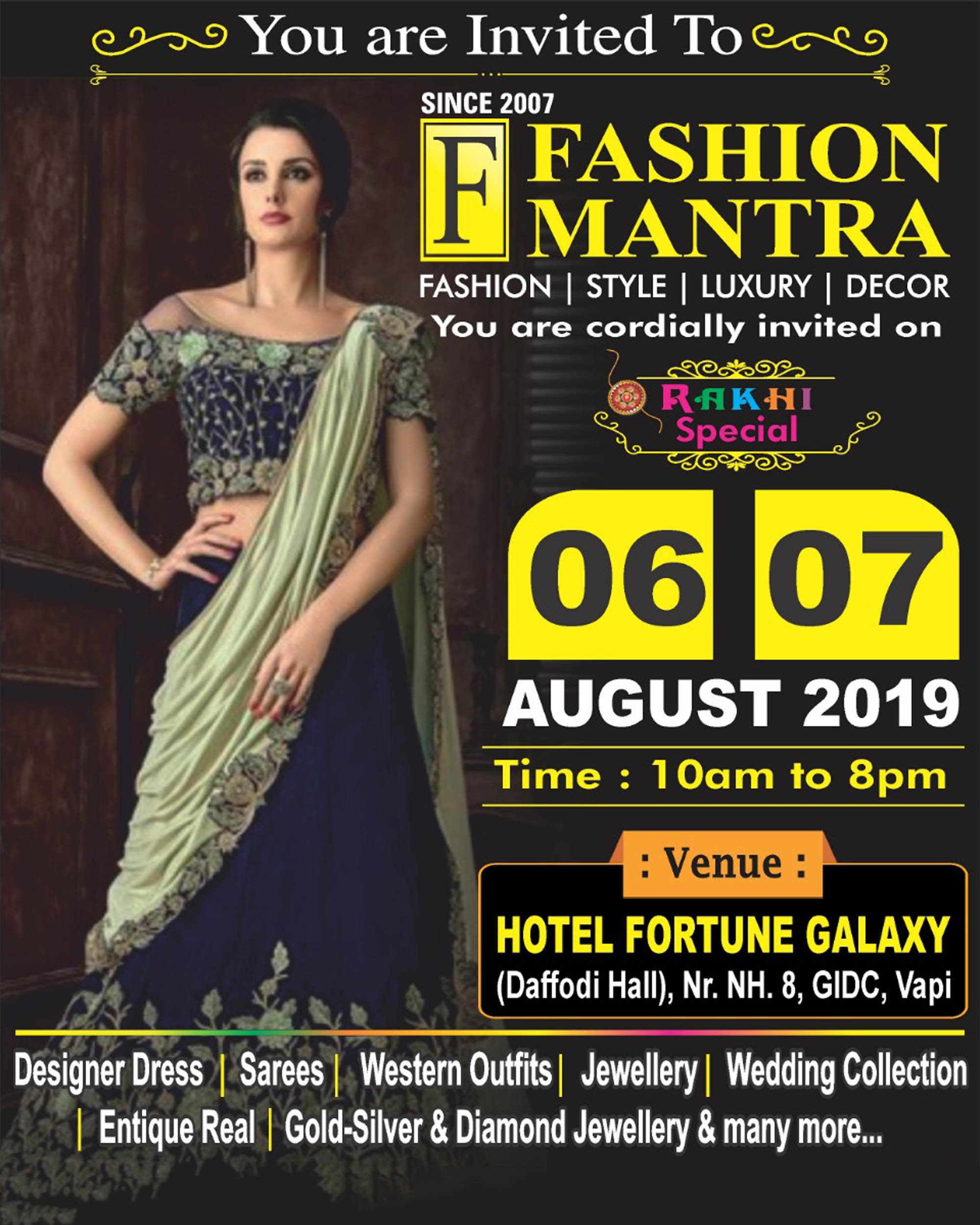 Fashion Mantra Poster