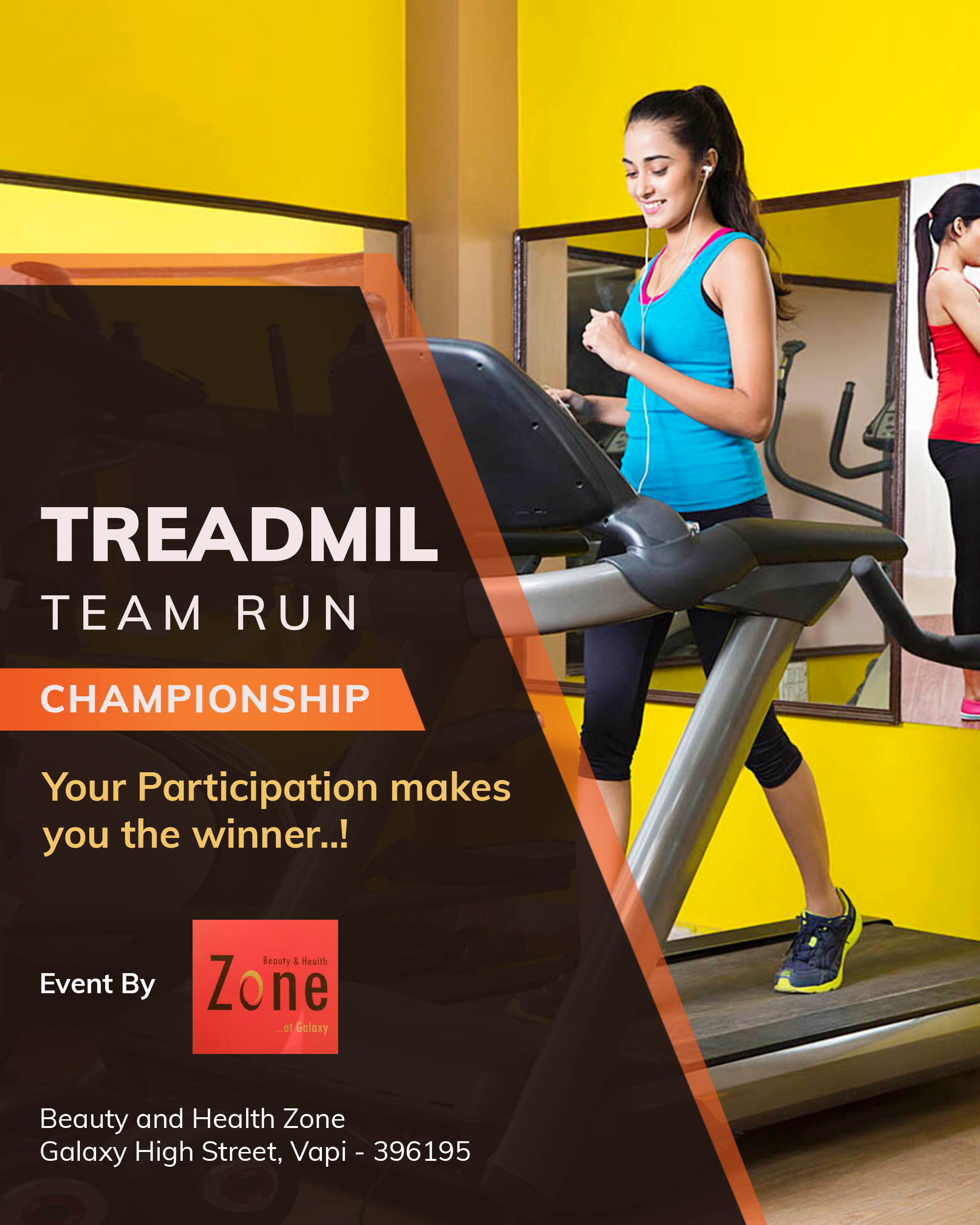 Treadmil Team Run