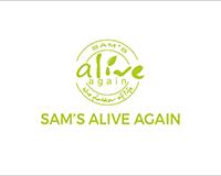Sam's Alive Again Logo