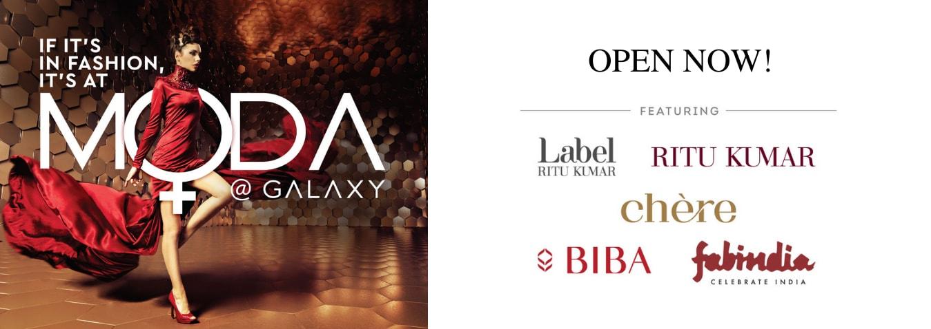 MODA Now Open In Galaxy High Street